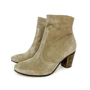 Seychelles Tan Suede Leather Ankle Booties
